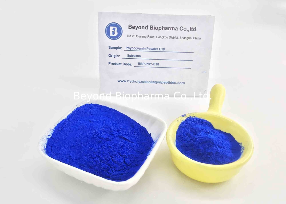 Water Soluble Colorant Phycocyanin Powder Applied For Fluorescent Reagent