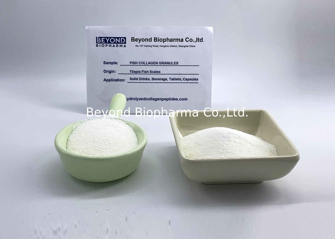 Customized Hydrolyzed Marine Collagen Powder , Wild Marine Collagen Granular