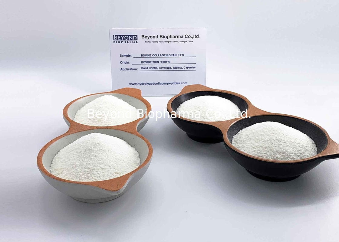 BSE/TSE Free Hydrolyzed Bovine Hide Collagen Peptides Type 1 And 3