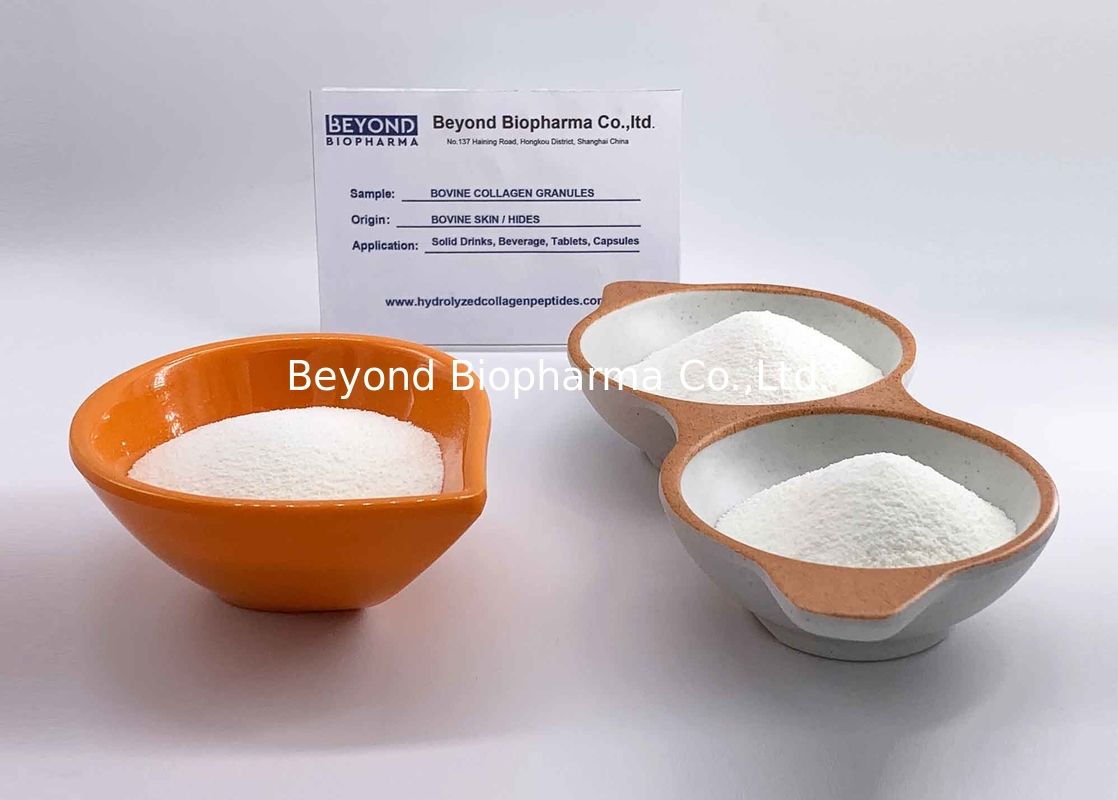 Good Solubility Bovine Hydrolysed Collagen Protein Powder Grass Feed Bovine Origin